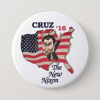 Ted Cuz: The New Nixon 7.5 Cm Round Badge