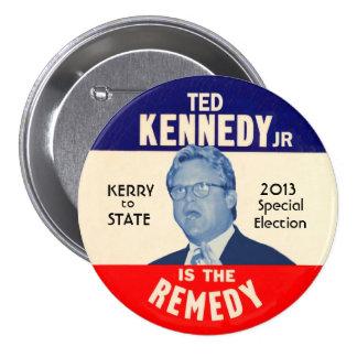 Ted Kennedy, Jr for U.S. Senator 2013 7.5 Cm Round Badge