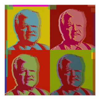 Ted Kennedy poster