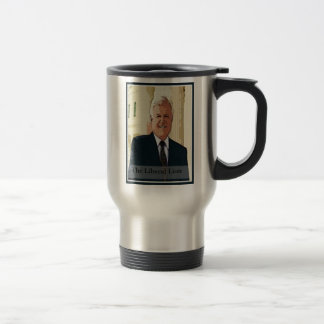 Ted Kennedy - The Liberal Lion Travel Mug