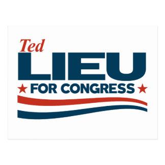 Ted Lieu Postcard