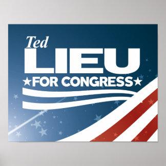 Ted Lieu Poster