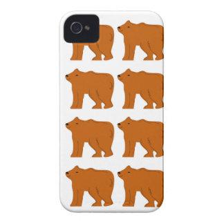 Teddies design on white Case-Mate iPhone 4 case