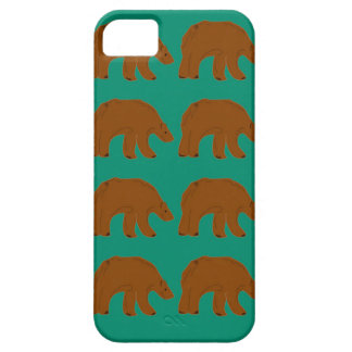Teddies on Mint edition iPhone 5 Case