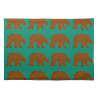 Teddies on Mint edition Placemat
