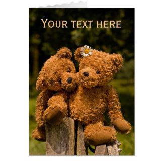 Teddy 01 greeting card