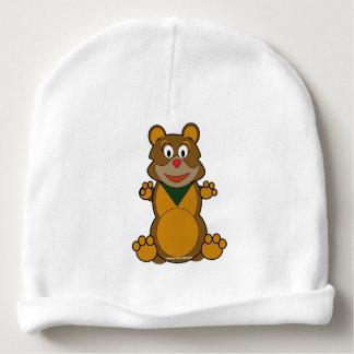 teddy baby beanie