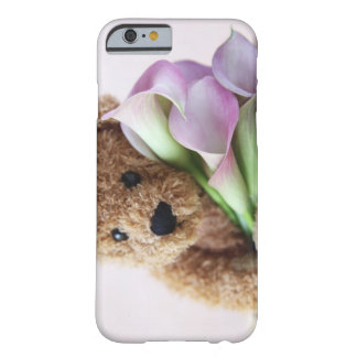 teddy bear and calla lilies iPhone 6 case barely t
