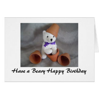 Beary Happy Birthday Gifts - T-Shirts, Art, Posters & Other Gift Ideas ...