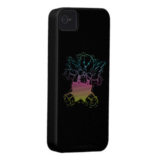 Teddy-Bear Angel iPhone 4 Case-Mate Case