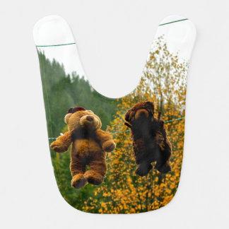Teddy Bear Baby Bib