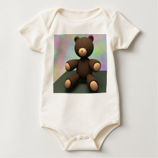 Teddy Bear Baby Bodysuit