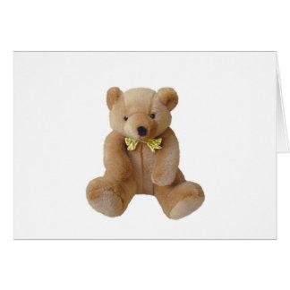 Teddy Bear  Baby Expecting Pregnancy Shower Love Card