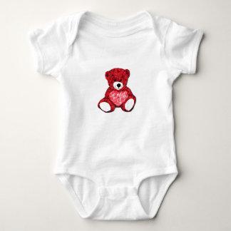 Teddy Bear Baby Jersey Bodysuit