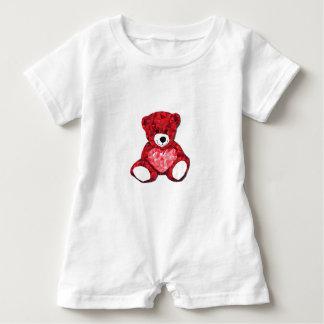 Teddy Bear Baby Romper Baby Bodysuit