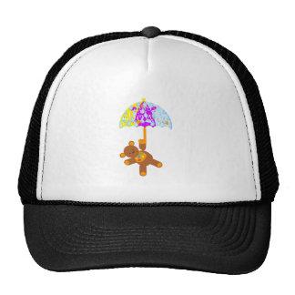 Teddy Bear Baby Shower Trucker Hats