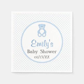 Teddy Bear Baby Shower Paper Napkins