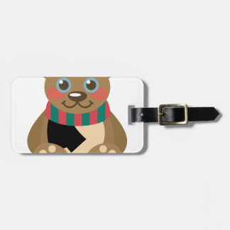 Teddy Bear Bag Tag