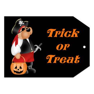 "Teddy Bear Begger's Night Kid's Halloween Invite 5"" X 7"" Invitation Card"