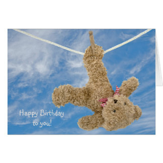 Teddy Bear Birthday Card