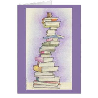 Teddy Bear Books Card