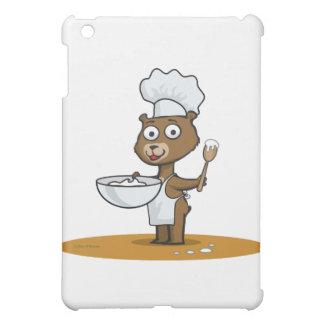 Teddy Bear Cook iPad Mini Cases