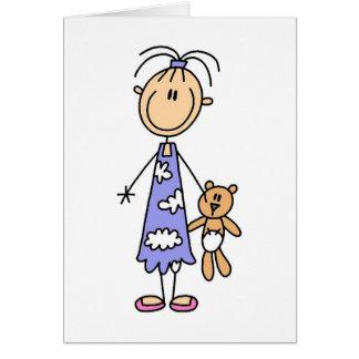 Teddy Bear Cuddle Buddy Card