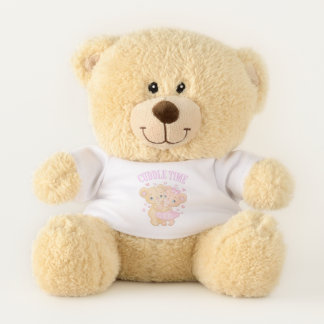 Teddy bear cuddle time