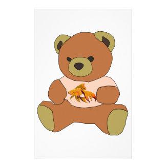 Teddy Bear Customized Stationery