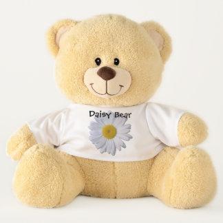 Teddy Bear - Daisy Bear - Daisy on White II