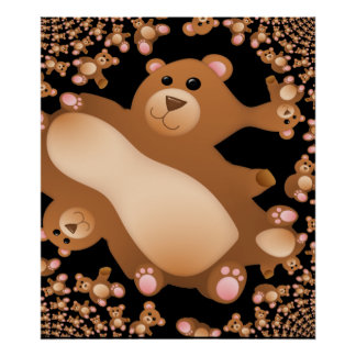 Teddy Bear Dream Poster
