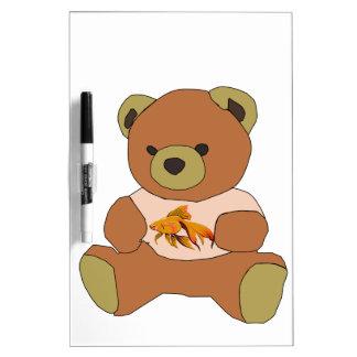 Teddy Bear Dry Erase Whiteboard