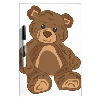 Teddy Bear Dry-Erase Whiteboard