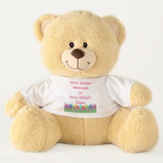 Teddy Bear - Easter Eggs in Grass