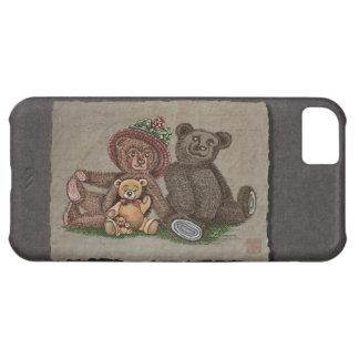 Teddy Bear Family iPhone 5C Cover