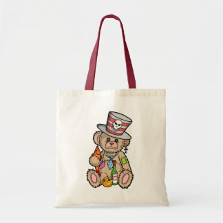 Teddy Bear Filled with Hero Juice Tote Bag