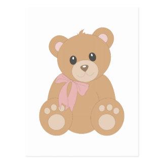 """Teddy Bear"" for Girls Postcard"