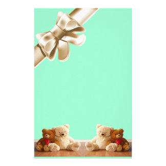 Teddy Bear Friends Set Custom Stationery