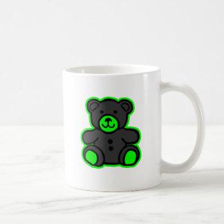 Teddy Bear Green Black The MUSEUM Zazzle Gifts Coffee Mugs