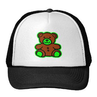 Teddy Bear Green Brown The MUSEUM Zazzle Gifts Trucker Hats