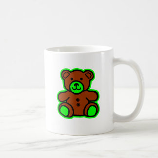 Teddy Bear Green Brown The MUSEUM Zazzle Gifts Mugs