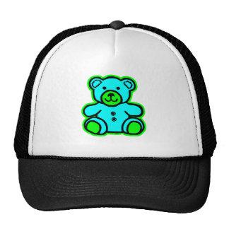 Teddy Bear Green Cyan The MUSEUM Zazzle Gifts Hat