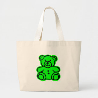 Teddy Bear Green Green The MUSEUM Zazzle Gifts Bags