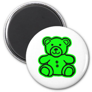 Teddy Bear Green Green The MUSEUM Zazzle Gifts Magnets