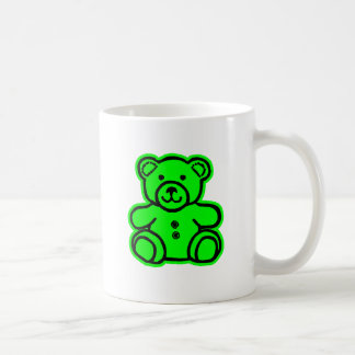 Teddy Bear Green Green The MUSEUM Zazzle Gifts Coffee Mug