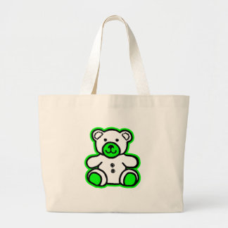 Teddy Bear Green White The MUSEUM Zazzle Gifts Bags