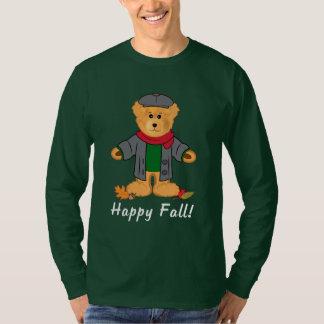 Teddy Bear Happy Fall T-Shirt