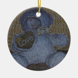 Teddy Bear Love Ornament