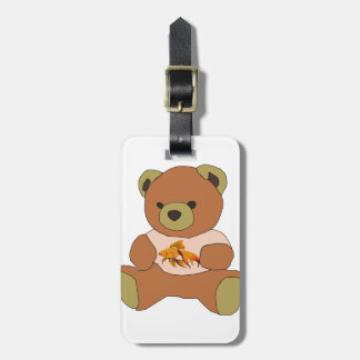 Teddy Bear Luggage Tag