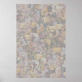 Teddy Bear Medley Poster